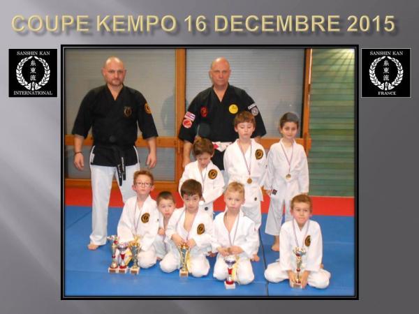 Coupe kempo 16 decembre 2015 la coupe