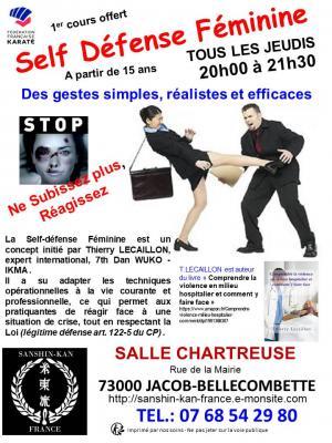 Ffk affiche self defense