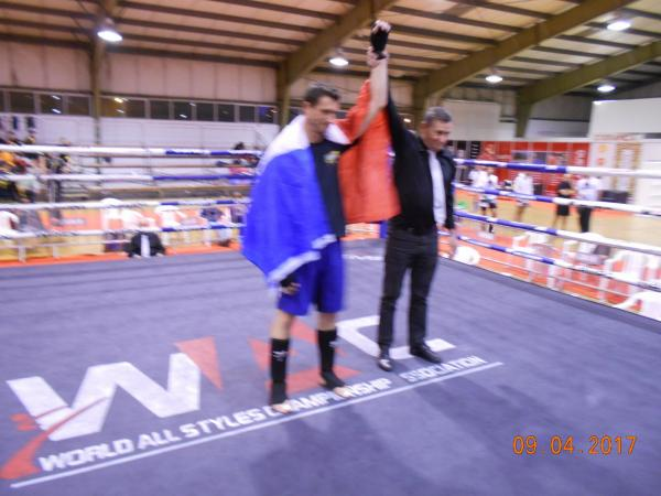 Francis gagnant ring