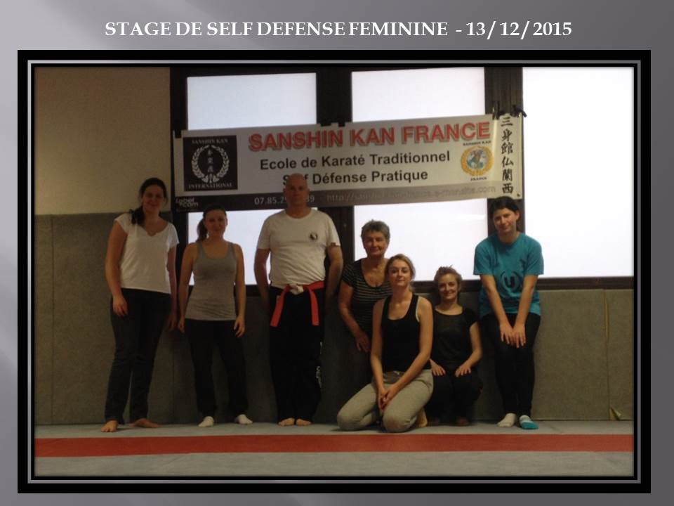 Stage self defense feminine barby 13 12 2015